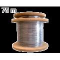 Patch cord μονότροπης οπτικής ίνας G657A μήκους 75 μέτρων, τερματισμένο με ακροδέκτη FC/PC TELEVES 236107