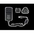 Τροφοδοτικό τύπου universal. 100 - 240 Vac, 12 Vdc, 1.5A. 2-pin με σύνδεση EU/UK universal