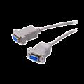 Καλώδιο null modem DB9 θηλ. σε DΒ9 θηλ. μήκους 1.8m