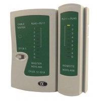 PT multi network tester RJ11,RJ12,RJ45 (καλώδιο δικτύου και τηλέφωνου) CAB-N044