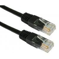 Καλώδιο UTP Cat 6e Black 0.5m Powertech CAB-N072