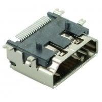 Αντάπτορας HDMI A TYPE1 pins 90° Silver CON-H002