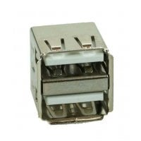 Αντάπτορας USB 2.0 Double down Silver/White CON-U006
