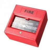 Μπουτόν αναγγελίας πυρκαγιάς DS-911R με κλειδί επαναφοράς κόκκινο OEM DS-911R
