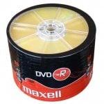 DVD-R 16x 120min 4,7Gb 50 Spindle MAXELL DVD0256