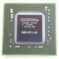 NVIDIA BGA IC Chip G86-631-A2 με Balls OEM IC-016