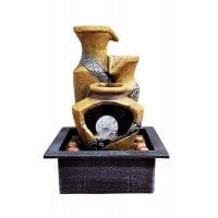 Τιμή (16.11€ +ΦΠΑ) Συντριβάνι Feng Shui Amporas 35X25X20cm UNBRANDED JK-180-007