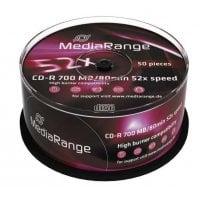 CD-R 52x 700MB/80min Cake 50τμχ MediaRange MR207