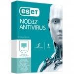 ESet NOD32 Antivirus 3 Άδειες χρήσης 1 έτος ESET NOD32A7