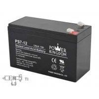 Μπαταρία Μολύβδου 12Volt 7Ah T1 Power Kingdom PS7-12-T1