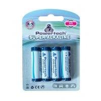 Αλκαλικές μπαταρίες AA LR6 4 τεμ Powertech PT-158