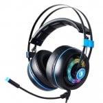 Gaming HeadSet Armor SA-918-BL USB Realtek Audio RGB LED BK SADES SA-918-BL