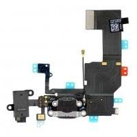 Καλώδιο Flex κοννέκτορα φόρτισης για iPhone 5G σε μαύρο χρώμα OEM SPIP5-013
