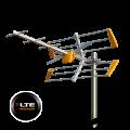 Κεραία TELEVES LTE (ch 21-60) τύπου Yagi 10 κατευθυντικών στοιχείων με δίπολο διπλού V και ανακλαστήρα TELEVES 12-00-0015