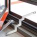Adaptor με βύσματα F για διέλευση καλωδίου απο παράθυρα ή πόρτες χωρίς τρύπημα του πλαισίου τους OEM 24-01-0003