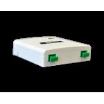 User-Access-Point οπτικής ίνας με 2 εξόδους οπτικής ίνας με φίς SC-θηλυκό (περιλαμβάνεται) TELEVES 2315