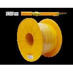 Στροφίο καλωδίου 2 γραμμών οπτικής ίνας LSFH 750 μέτρων TELEVES 231902