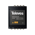 Optical Splitter 8 Ways χρησιμοποιείται για διανομή σήματος μέσω οπτικής ίνας σε εγκαταστάσεις TELEVES 236001