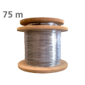Patch cord μονότροπης οπτικής ίνας G657A μήκους 75 μέτρων τερματισμένο με ακροδέκτη FC/PC TELEVES 236107