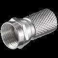 Βύσμα F 7,0mm για σύνδεση στο καλώδιο TV OEM 24-00-0001
