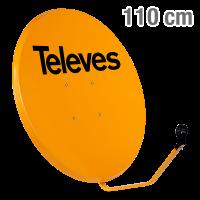 ΚΑΤΟΠΤΡΟ 110 STEEL πορτοκαλί 7572 TELEVES 12-07-0006