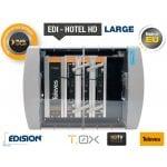 Eπαγγελματικό τηλεοπτικό πακέτο EDI - HOTEL HD LARGE