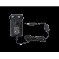 Τροφοδοτικό τύπου universal. 100 - 240 Vac, 12 Vdc, 1.0 A, 3-pin, με σύνδεση UK EDISION 08-07-0013