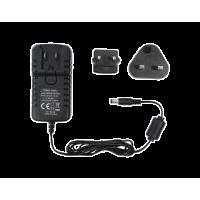 Τροφοδοτικό τύπου universal. 100 - 240 Vac 12 Vdc 1.5A. 2-pin με σύνδεση EU/UK universal
