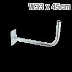 ΒΑΣΗ ΤΟΙΧΟΥ Φ33 x 45cm OEM 16-05-0003