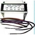 Μετασχηματιστής 50W-GR, 17VAC για NX. CADDX 16.6V/230VAC 50W