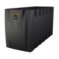Line Interactive UPS για CCTV. Χωρητικότητα 1200 VA/600W Αccupower UPS-1200VA