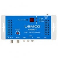 High Definition (HD) DVB-T Modulator 1 x HDMI/RCA to DVB-T LEMCO HDMOD-1