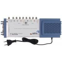 Multiswitch με 17 Εισόδους Και 32 Εξόδους Με Υποστήριξη 4 Δορυφορικά σήματα Και 1 επίγειο με Προσαρμοζόμενο Gain για το επίγειο σήμα SATRIX OLS 17/32 - Multiswitch 17 inputs / 32 outputs