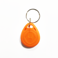 RFID Key Fobs 125KHz (10 Pack) Grandstream TK4100 Orange