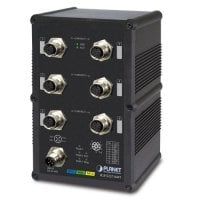 PLANET IGS-5227-6MT Industrial IP67-rated 6-Port 10/100/1000T M12 Managed Ethernet Switch (-40~75 degrees C A-coded M12)