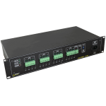 PULSAR R1612T R 12V/16x1,5A/TOPIC RACK mounted power supply για up to 16 analog cameras