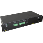 PULSAR R812P R 12V/8x1.5A/PTC RACK mounted power supply για up to 8 analog cameras
