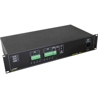 PULSAR R812T R 12V/8x1,5A/TOPIC RACK mounted power supply για up to 8 analog cameras