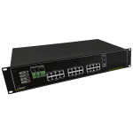 PULSAR RPUPS1248R RPUPS 54V/12V/5A RACK mounted buffer power supply για up to 12 cameras IP and DVR