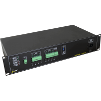 PULSAR RUPS812T RUPS 13,8V/8x1A/TOPIC RACK mounted buffer power supply για up to 8 analog cameras