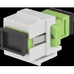 PULSAR SC/APC-1SM-K SC/APC-1SM – single-mode fiber optic Αντάπτορας Keystone
