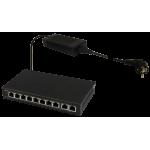 PULSAR SG108 10-port switch για 8 IP cameras