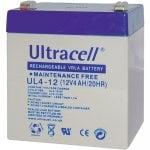 Μπαταρία μολύβδου ULTRACELL 12V 4AH