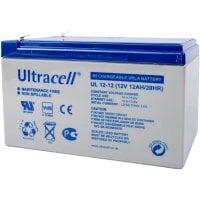 Μπαταρία μολύβδου ULTRACELL 12V 12AH