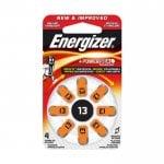 Μπαταρία ακουστικών βαρηκοΐας ZA13 1.4V 8τμχ ENERGIZER ZINC-AIR-13-8P-8ΤΕΜ