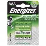Επαναφορτιζόμενη μπαταρία Εnergizer ΑΑA-HR03 4τμχ ENERGIZER AAA-HR03-500mAh-4TEM