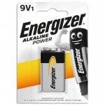 Αλκαλική μπαταρία Energizer 6LR61 9V ENERGIZER ENERG9V-6LR61-ALKALINE-POWER