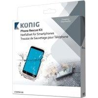Τιμή (2.19€ +ΦΠΑ) Kit αφαίρεσης υγρασίας για smartphones KONIG - CSS PRK 100