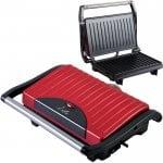 Τοστιέρα με grill πλάκες 700W LIFE Scarlet